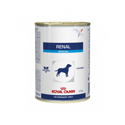 Boîtes Royal Canin Veterinary Diet Renal Special pour chiens 12 boîtes 410 g