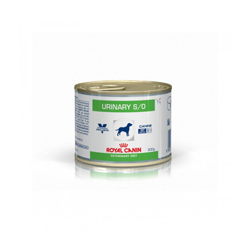 Boîtes Royal Canin Veterinary Diet Urinary S/O pour chiens 12 Boîtes 200 g