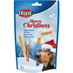 Boîte cadeau chien Noël 6 friandises