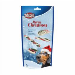 Boîte cadeau chien Noël 8 friandises