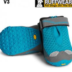 Bottines de sport Ruffwear Grip Trex Bleu T00 lot de 2