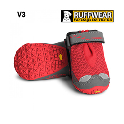Bottine de sport Ruffwear Grip Trex Rouge T6 l'unité