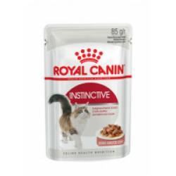Bouchées pour chat Royal Canin Instinctive lot de 12 sachets 85 g - Sauce