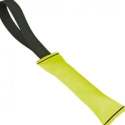 Boudin de rappel Flex pour chien Lg 24cm Ø 6.5cm couleur jaune