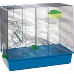 Cage bleue à étages Spiral pour rongeurs