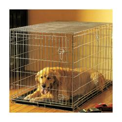 Cage pliable métallique pour chien ou chat T1