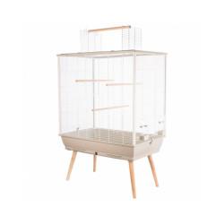 Bac beige pour Cage pour oiseau Neo Jili Zolux