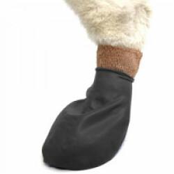 Chaussette Pawz noire protection pour coussinets de chien Tiny n°1 Boite de 12