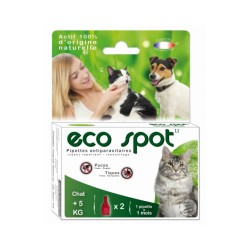 Antiparasitaire Essential Eco Spot Grand chat 2 pipettes 1 ml