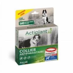 Collier antiparasitaire pour chien Essential Rouge 100% Biodégradable 60 cm (Fin de DLUO)