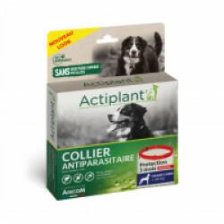 Collier antiparasitaire pour chien Essential Rouge 100% Biodégradable 75 cm (Fin de DLUO)
