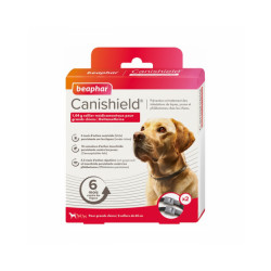 Collier Canishield Beaphar - GRANDS CHIENS (2 colliers)