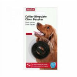Collier Dimpylate pour petit et moyen chien anti-puces et tiques Beaphar - Marron