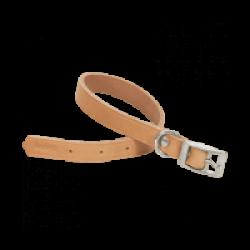 Collier pour chien en cuir naturel Chapuis Sellerie Largeur 40 mm Longueur 70 cm