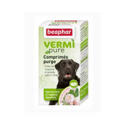Comprimés de purge aux plantes Vermipure 50 comprimés Grand et moyen chien