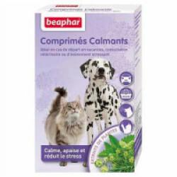 Comprimés calmants pour chat ou chien à base de plantes - 20 cps