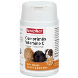 Comprimés de Vitamine C pour cochon d'Inde Beaphar - 100 cps