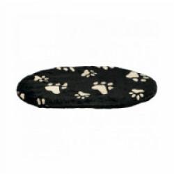 Coussin pour chien à motifs Joey noir Trixie Taille XXS Longueur 44 cm Largeur 31 cm