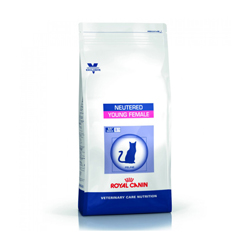 Croquettes Royal Canin Veterinary Care Neutered Young Female pour chat sac 1,5 kg