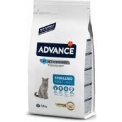 Croquettes Advance pour chats Sterilised Dinde
