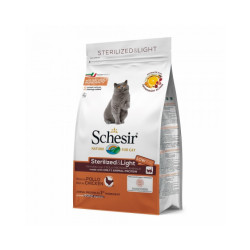 Croquettes chat adulte Schesir Sterilized & Light