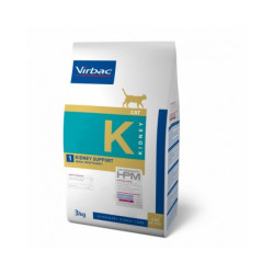 Croquettes chat Virbac Veterinary HPM Cat Kidney Sac 1,5 kg