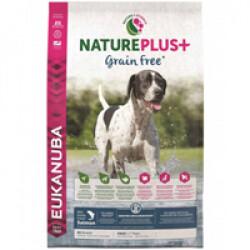Croquettes Eukanuba Natureplus sans céréales Grain Free saumon sac de 2,3 kg