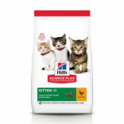 Croquettes Hill's pour chaton Science Plan santé et croissance Poulet Sac 1,5 kg