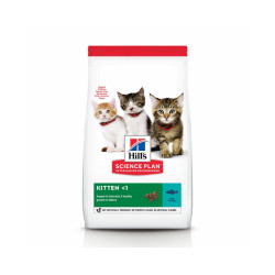 Croquettes Hill's pour chaton Science Plan santé et croissance Thon Sac 1,5 kg