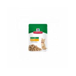 Croquettes Hill's pour chaton Science Plan santé et croissance Multipack poulet & poisson 12 sachets 85 g (DLUO 6 mois)