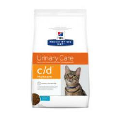 Croquettes Hill's Prescription Diet Feline C/D Multicare Poisson Sac 1,5 kg