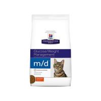 Croquettes Hill's Prescription Diet Feline M/D Sac 1,5 kg