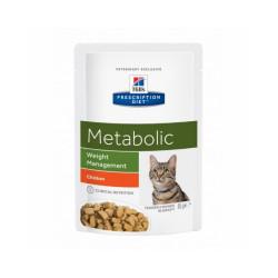 Hill's Prescription Diet Feline Metabolic 12 Sachets 85 g