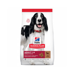 Croquettes Hill's Science Canine Adult Advanced Fitness agneau pour chien Sac 2,5 kg