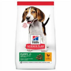 Croquettes Hill's Science Plan Canine Puppy Medium Poulet pour croissance Sac 2,5 kg
