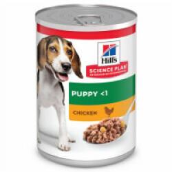 Hill's Science Plan Canine Puppy Medium Poulet pour croissance 12 boîtes de 370 g