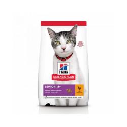 Croquettes Hill's Science Plan Feline Senior 11+ pour chat âgé Sac 3 kg