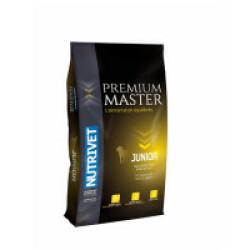 Croquettes Nutrivet Master Premium Junior pour chien Sac 15 kg
