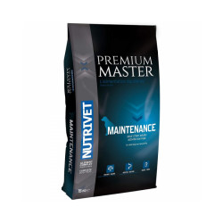 Croquettes Nutrivet Master Premium Maintenance pour chien Sac 15 kg