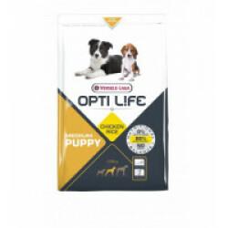 Croquettes Opti Life pour chiot de taille moyenne Sac 12,5 kg