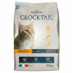 Croquettes pour chat adulte de grande race Large Breed Crocktail Flatazor Pro-Nutrition Sac 10 kg (DLUO 3 mois) (DLUO 3 mois)