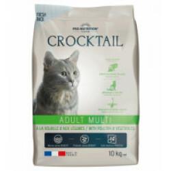 Croquettes pour chat adulte légumes et volaille Crocktail Adult Mini Flatazor Pro-Nutrition Sac 10 kg