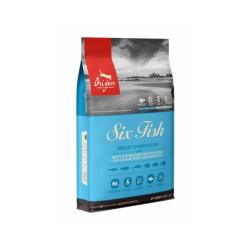Croquettes pour chat aux poissons Orijen Six Fish sac 1,8 kg