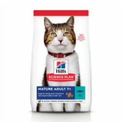 Croquettes pour chat mature actif Hill's Science Plan Longevity Thon Sac 1,5 kg