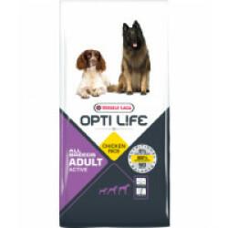 Croquettes pour chien adulte actif toute race Opti Life Sac 12,5 kg