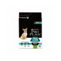 Croquettes pour chien adulte de petite et très petite race Sensitive Digestion OptiDigest Pro Plan Sac 3 kg