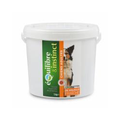 Croquettes pour chien Adulte Equilibre & Instinct volaille fraîche - Seau 5 kg