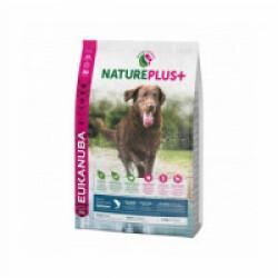 Croquettes pour chien adulte grande race Eukanuba Natureplus saumon Sac 2,3 kg (Fin de DLUO) (Fin de DLUO)