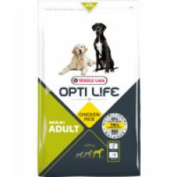 Croquettes pour chien adulte grande taille Opti Life sac 12.5 kg