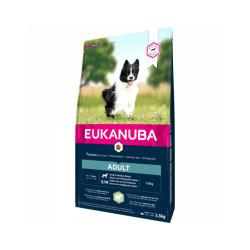 Croquettes pour chien adulte petite et moyenne race Eukanuba agneau et riz Sac 2.5 kg